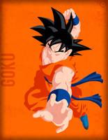 Goku FNF - Minimalist by Horira21