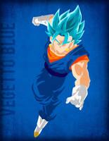 Vegetto Blue - Minimalist by Horira21