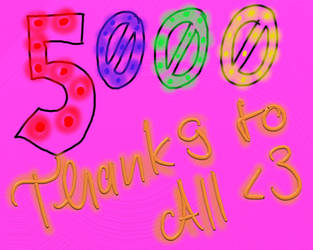 5000 pageviews by Hour-glass9494