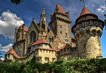 Burg Kreuzenstein Stock 1 by AlexanderHuebner