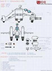 RAH-77V TechnicalDrawingReMAkE by Shruikan89