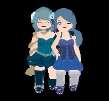 Sophia and Odeta by jellygirldesigns