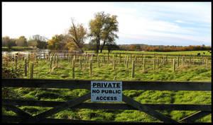 private no public access by blissflowers