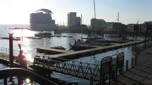 Cardiff Bay by blissflowers