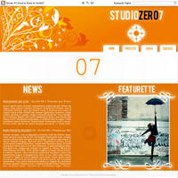 StudioZero7 Website V1.0 by Studio07