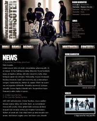 Damsoter Rock Website by Studio07