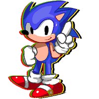 Sonic The Hedgehog 300x300 by Mobian-Shadowtails