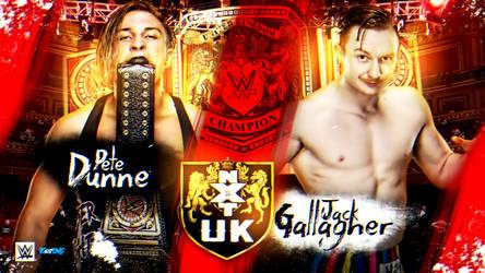 NXT UK Custom Match Card By: KalistOMG by KalistOMG
