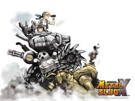 Metal Slug X by FutteBlog