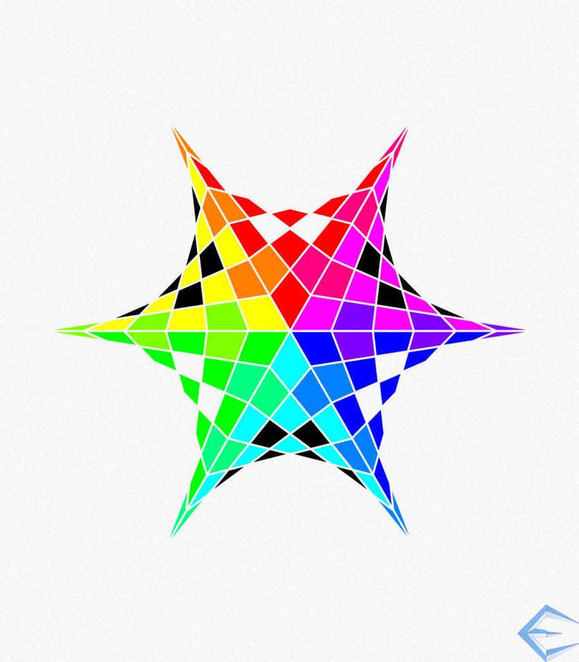 Color Wheel Star By Eriklectric On Deviantart