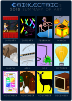 2018 Summary of Art by eriklectric