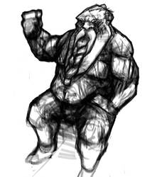 Dwarf Sketch by gonzo1the1first