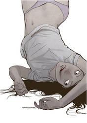 Dead Girl by TOMATOZOMBIE