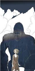 King Kong by TOMATOZOMBIE
