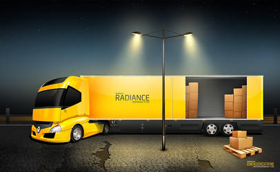 Vector Radiance Truck Trailer by zaib