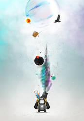 :nf Mascot Poster by zaib