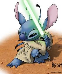 Jedi Stitch by spooky-freaky-dave