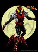 Kamen Rider KIVA by andicahyow