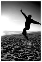 Capoeira in the Sun 2 by xamak