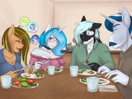 Dinner with the Parents by AskBubbleLee
