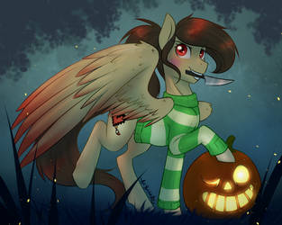 Halloween Exchange! by AskBubbleLee