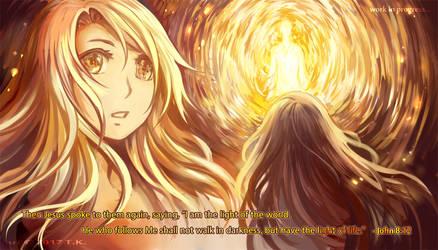 Light of the World by flyingpeachbun