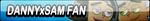 Danny x Sam Fan Button (Request) by Kyu-Dan