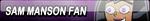 Sam Manson Fan Button (Request) by Kyu-Dan
