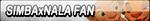 Simba x Nala Fan Button (Request) by Kyu-Dan