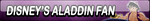 Disney's Aladdin Fan Button by Kyu-Dan