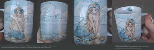 Mermaid Mug by tshuki