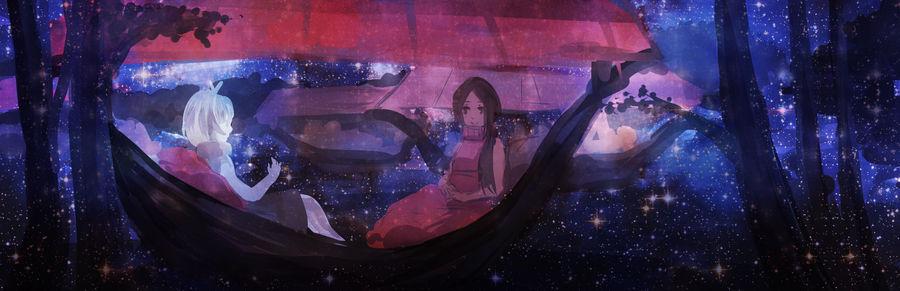 DaF: Life among stars by tshuki