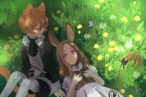 Dandelions by tshuki