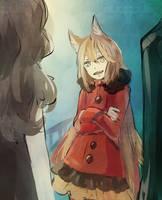 [SM] Honey, a catgirl saw us by tshuki