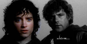 Frodo and Sam-Alone by angelprincess101