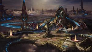 Sky city concept by everlite