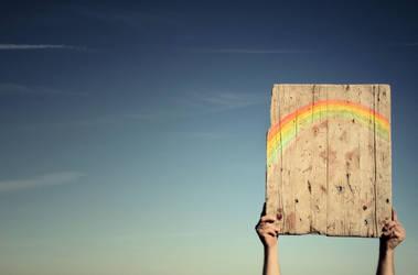 another rainbow. by LenaCramer