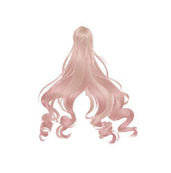 Sims 4 to MMD: Newsea's Hair (FINALLY) Rigged by MacaronParisPretty