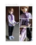 5th Atelier - Look 10: Mauve Schoolboy by Ylden
