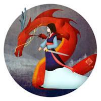 Mulan by Ylden