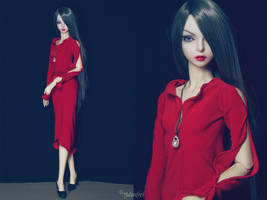 5th Atelier: Lady in Red by Ylden