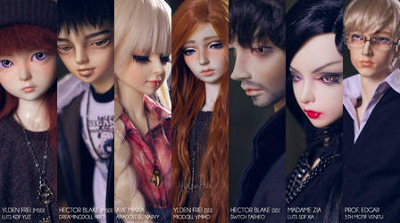 The Cast of 5th Atelier: 2014 by Ylden