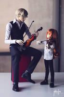 Quiet Fiddler by Ylden