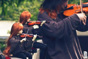 Achievement Unlocked: Violin Trio by Ylden