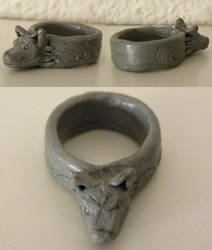 Ring of Hircine by CamKitty2