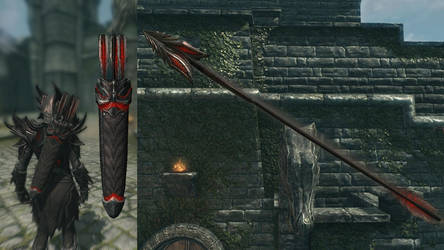 Better Daedric and Bound Arrows for Skyrim by CamKitty2