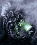 Alien crash. by Hungrysparrow
