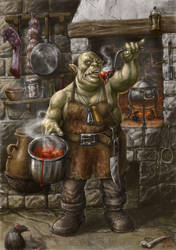 Ork Chef by Hungrysparrow