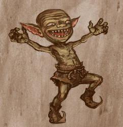 Goblin Concept by Hungrysparrow