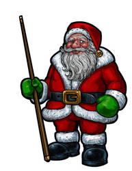 Santa by Hungrysparrow